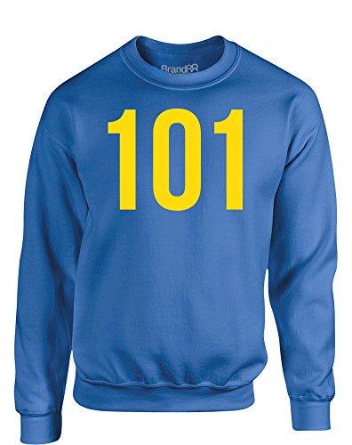 Vault 101, Kinder Gedrucktes Sweatshirt - Königsblau 3-4 Jahre Transformers Vault