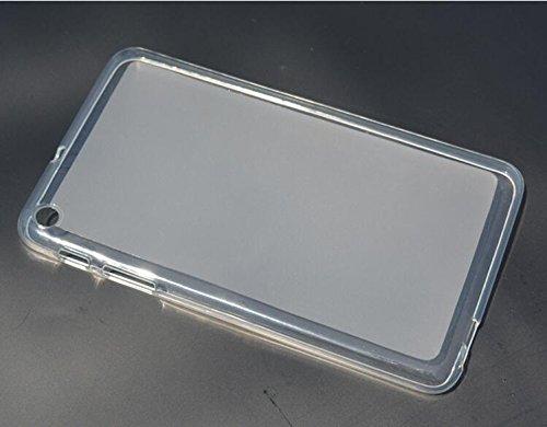 Crystal Skin Tpu Case (Feicuan Ultra Thin Slim Crystal Clear Soft TPU Cover Case Skin für Huawei MediaPad T1-701U 7Inch Tablet - Clear)