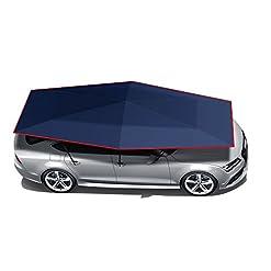 Wisamic automatico auto pieghevole tenda carport con telecomando auto baldacchino, 210x 400cm automatico e manuale 2in 1