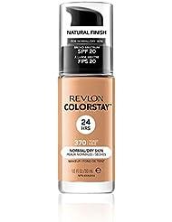 Revlon ColorStay Makeup for Normal/Dry Skin Toast 370, 1er Pack (1 x 30 g)