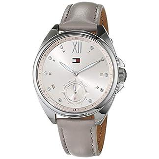 Tommy Hilfiger Reloj Multiesfera para Mujer de Cuarzo con Correa en Cuero 1781990