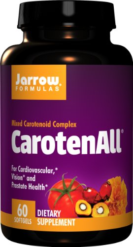 Jarrow CarotenALL Mixed Carotenoid Complex (60 Softgels) Test