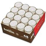 Bundle: Teelichthalter Promo (Sandra Rich) & 48 Teelichter mit 8 Stunden Brenndauer (bolsius): Set 12 Teelichthalter & 48 Teelichter - 4