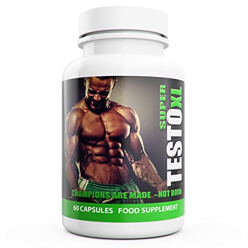 Extreme Testosterone Booster for Men | Super Testo XL | 60 Capsules