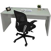 Mesa de Oficina. Euro 2000. Color Gris. 160x80 cm
