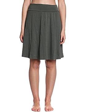 Abbino 10991 Faldas para Mujer - Hecho en ITALIA - 11 Colores - Entretiempo Primavera Verano Otoño Encanto Elegantes...