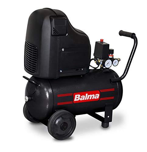 Balma Compressore MF20, 24 Litri, Oil-free, 2HP, 8 bar