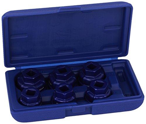 Draper Expert 22491 Ölfilter-Steckschlüsselsatz, 1/2\'\', 6 Stück