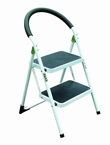 Lyte 2 Tread Step Stool with Comfortable Foam Handle