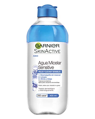 Garnier Skin Active Agua Micelar Sensitive Pieles