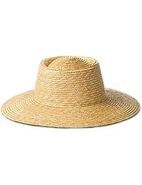 e4a3161e09263 Sombrero de Paja de Verano Primavera Sombrero de Paja Simple Alto para  Mujer Turismo al Aire Libre Sombreros para…