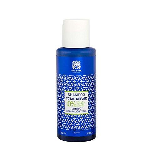 Válquer Total Repair Shampoo - 12 x 75 ml Packet - Total: 900 ml