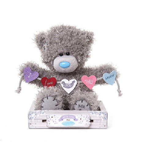 Me To You Teddy Love You This Much Bunting Bear 7 Inches