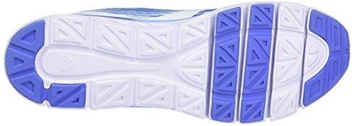 Peak Sport Europe Flyii Iii, Scarpe sportive outdoor Uomo Weiß (White Persian blue)
