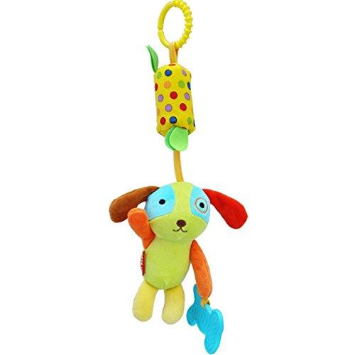 Kinderwagen Baby Spielzeug Plüsch Hängende Qualität Weiche Lernspielzeug Kinderwagen Kette Krippe Sitzende Hund -