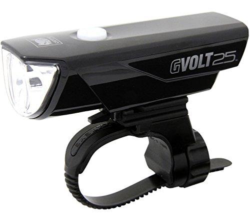 CatEye GVolt 25 HL-EL360G RC Frontlicht, schwarz/Rot, One Size