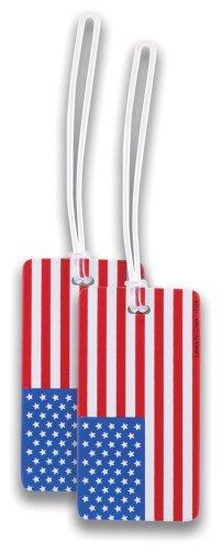 lewis-n-clark-etiqueta-para-equipaje-adulto-unisex-bandera-americana-talla-unica