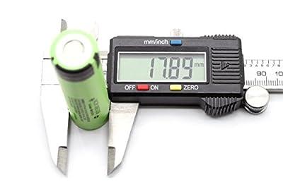 Akku Panasonic NCR-18650B 3400 mAh Li-ion, Flat Top, unprotected, sofort lieferbar von Panasonic