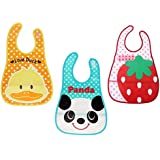 Gilli Shopee Baby Waterproof Aprons Bibs With Pocket Pack Of 3 Pcs (Colour May Vary)