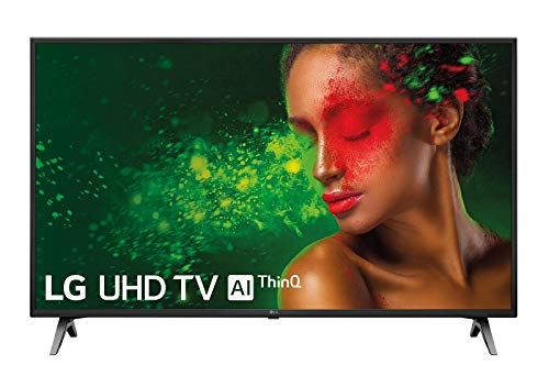 LG 43UM7100ALEXA - Smart TV 4K UHD de 109 cm (43') con Alexa Integrada (procesador Quad Core, HDR y Sonido Ultra Surround) color negro
