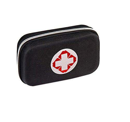 Emergency Kit Reiseapotheke Verbandskasten Outdoor Notfallset (black)