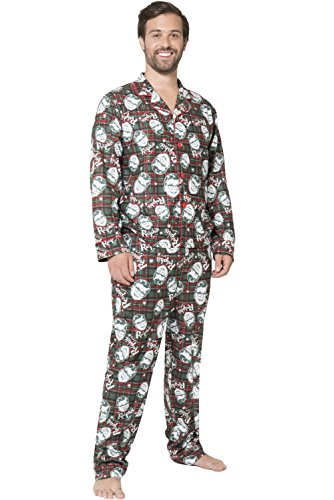Unbekannt A Christmas Story herren A Christmas Story Ralphie Coat Front Pajama Set Pyjama Set - mehrfarbig - (Christmas A Story-pyjama)