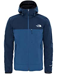 North Face M APEX BIONIC HOODIE - EU - Sudadera , Hombre , Azul - (URBAN NAVY/SHADY BLUE)