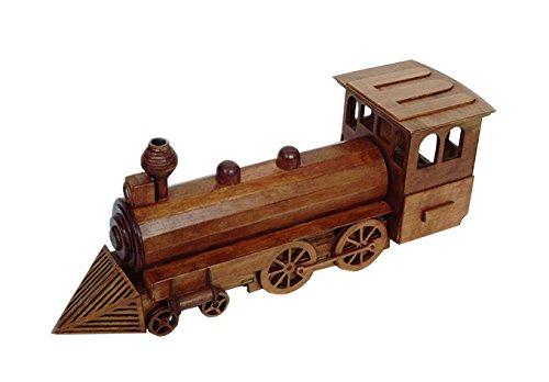 Artymon Kit de Madera Locomotora Color marrón Keranova 5002