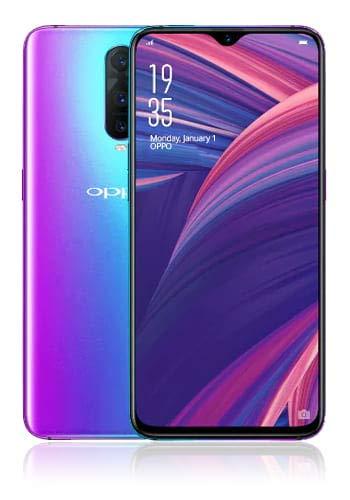 Oppo RX17 Neo 128GB Handy, blau/violett, Android 8.1 (Oreo), Dual SIM