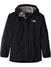 The North Face Jacket Resolve Reflective - Chaqueta para niña, color negro, talla S