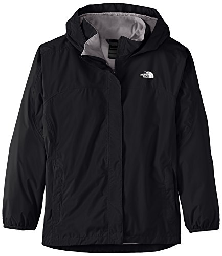 The North Face G Resolve Reflective Jacket Chaqueta, niña, Negro, S
