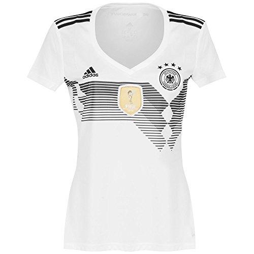 adidas Damen Dfb Heim Trikot, White/Black, M