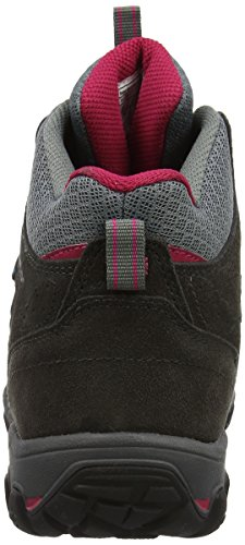 Karrimor Bodmin Mid 5 Ladies Weathertite Uk 4, Chaussures de Randonnée Hautes Femme Gris (Dark Grey)