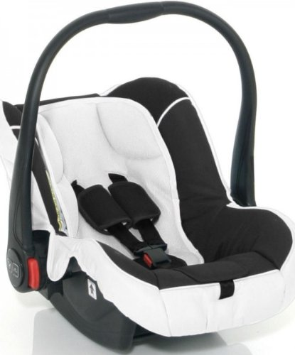 ABC-DESIGN Babyschale RISUS white-black KOLLEKTION 2013
