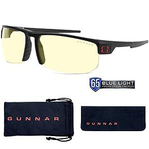 Gunnar Gaming- und Computerbrillen|Torpedo|Schutzbrille |Patentierte Linse, 65% Blaulichtschutz, 100% UV-Lichtschutz, Antireflex zur Reduzierung der Augenbelastung und Vorbeugen trockener Augen
