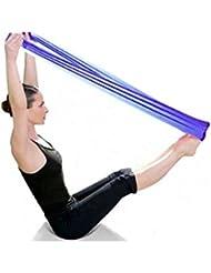 HARRYSTORE Pilates Yoga Workout Aerobics Banda elástica Banda elástica Banda elástica (Púrpura)