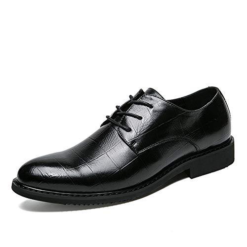 Jingkeke Herren Casual Lace-up Formal Business Oxford Klassische Britische Art Brautkleid Schuhe...
