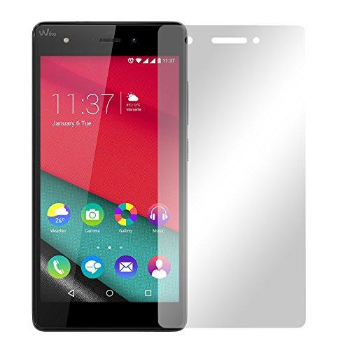 2 x Slabo Bildschirmfolie für Wiko Pulp 4G LTE Bildschirmschutzfolie Zubehör