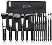 Eyeshadow 15pcs Professional Cosmetics Brushes Face Powder Foundation Eyeshadow Soft Synthetic Hair Makeup Tools Set