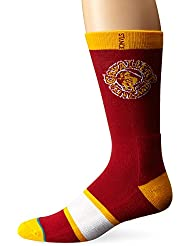 Stance Men's Cavaliers Premium NBA Crew Socks Red