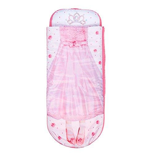 Readybed Cama Hinchable y Saco de Dormir Infantil Dos en Uno, Poliéster, Rosa, Individual, 75x75x90 cm