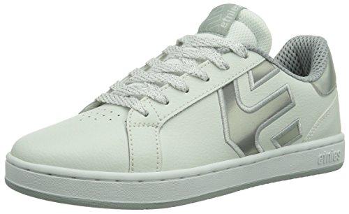 Etnies FADER LS W'S Damen Skateboardschuhe White/Silver