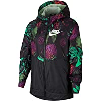 Nike Young Athletes, Jacket Donna, Frosted Spruce/White, M
