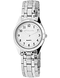 Excellanc Herren-Armbanduhr XL Analog Quarz verschiedene Materialien 280122000037