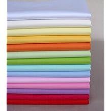 40cm*50cm 14pcs Plain Solid Cotton Fabric For Sewing Quilting Patchwork Textile