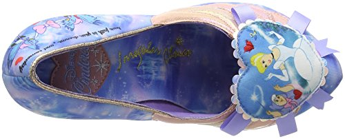 Irregular Choice - Faith In Dreams, Scarpe col tacco Donna Blu (Blu (Blue))