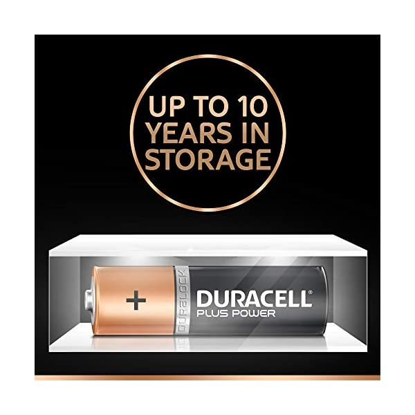Duracell Plus AA Alkaline Batteries [Pack of 18], 1,5 Volts LR06 MN1500 [Amazon exclusive]