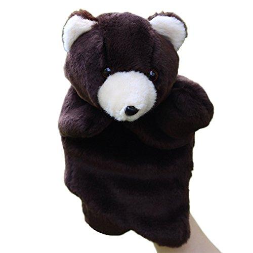 Yeahibaby Adorable peluche mano títere oso zoo amigos