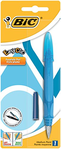 BiC Easy Clic Fountain Pen - Assorted Colors