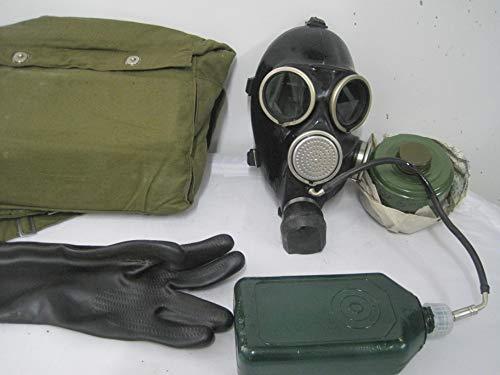 Gasmaske mit Trinkflasche Dark Room Poppers Black Style Fetisch